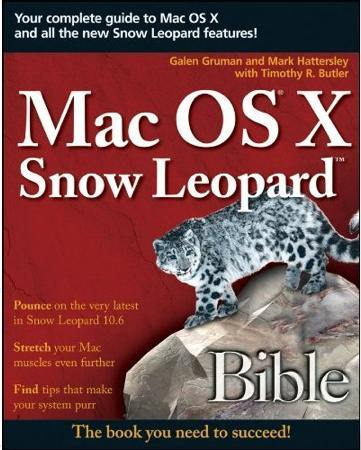 Snow Leopard Bible Cover